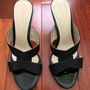 Shoes - Cross strap heels